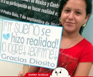 Sandra Giselle, de Chamelecón